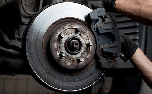 Jaguar Servicing Oil Change Brake Replacement