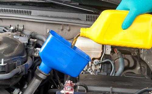 Jaguar Servicing Oil Change